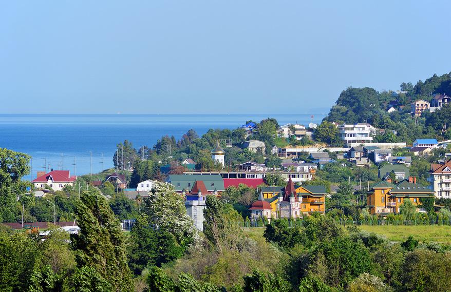 Вид на поселок Головинка