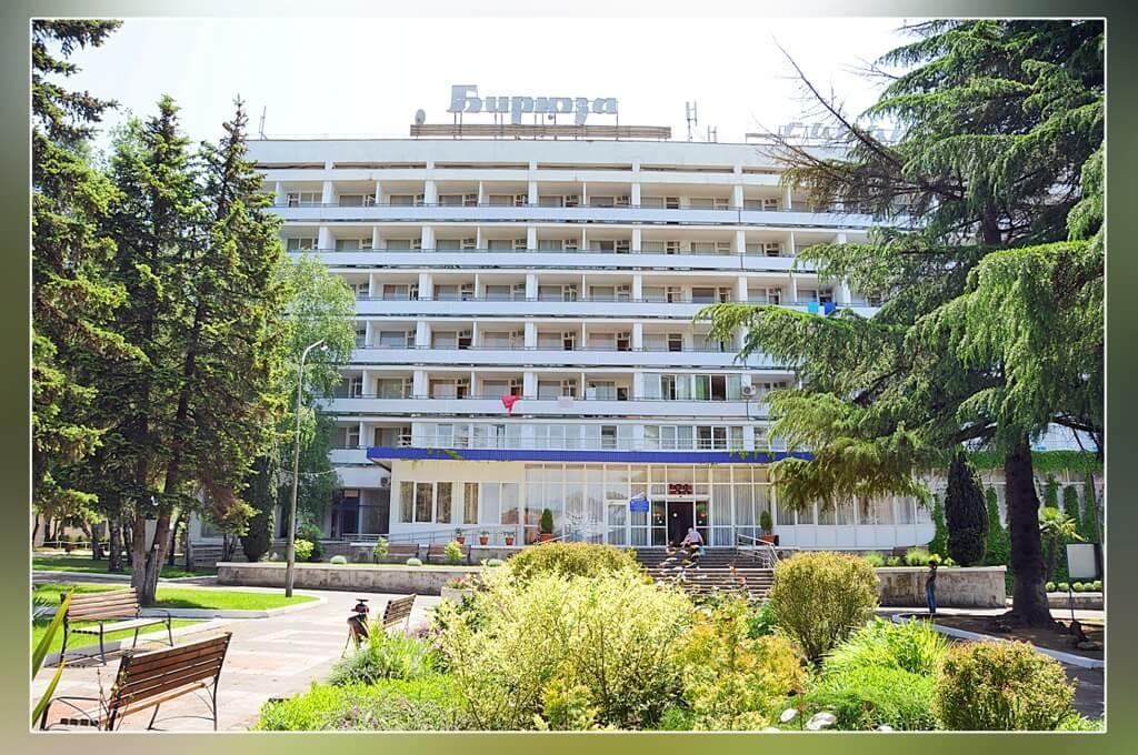 """Семиэтажный корпус санатория """"Бирюза"""""""
