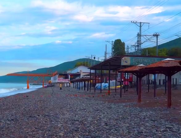 Пляж Бирюза Лазаревское