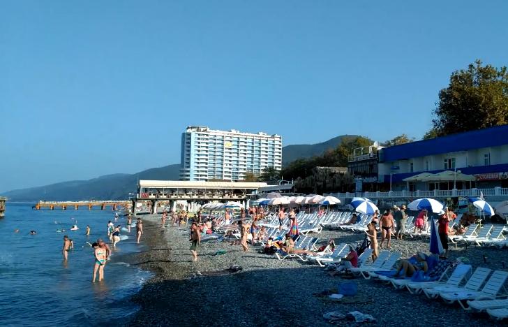 Пляж Гренада Лазаревское