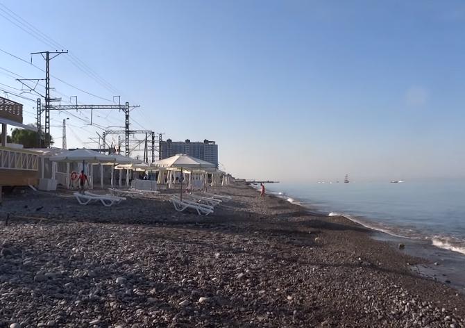 Пляж Морская звезда Лазаревское