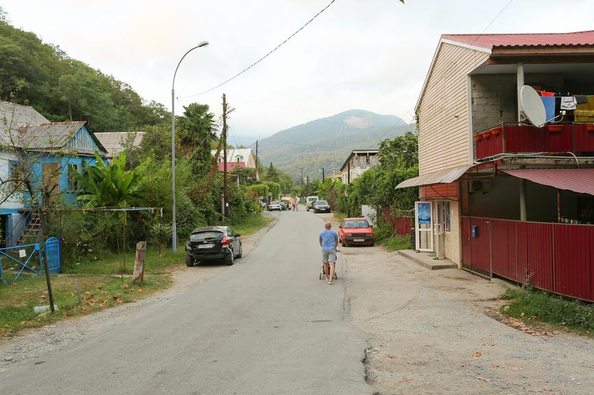 Вид на улицу Курганная в Катковой Щели